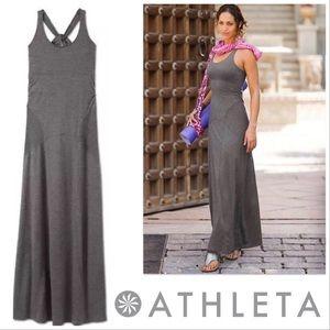 Athleta   Twist Back Maxi Dress